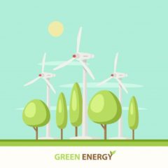 Zonne-energie als bron voor alle stroom